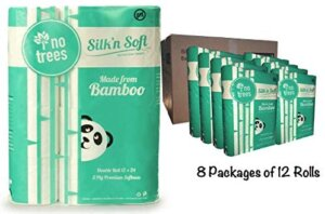 silk and soft bamboo toilet paper
