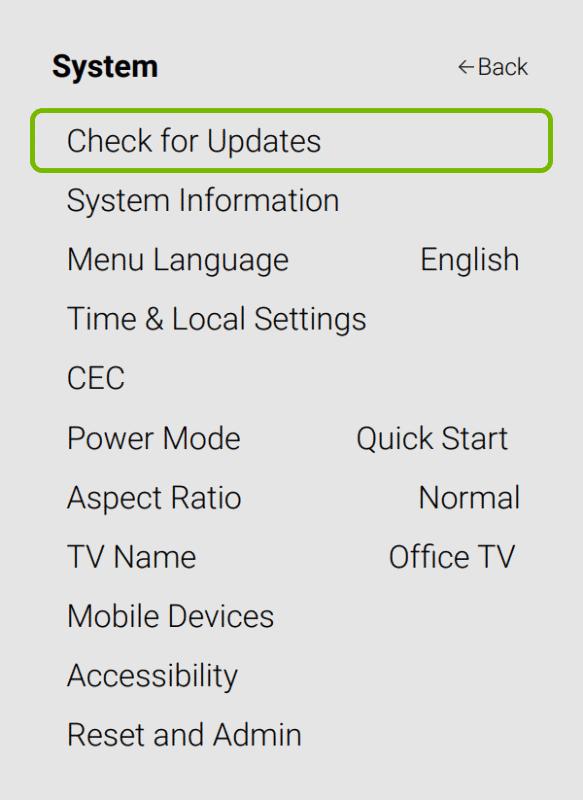 update your smartcast tv software