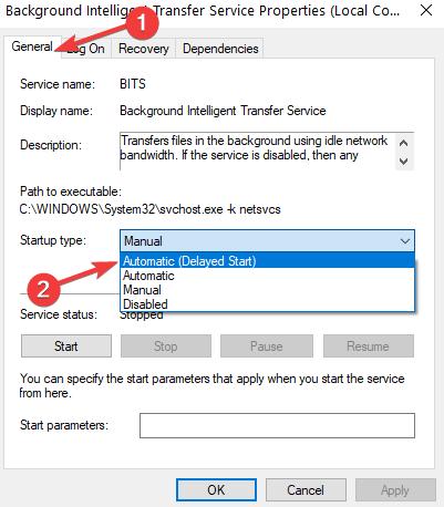 windows update error 0x80240fff